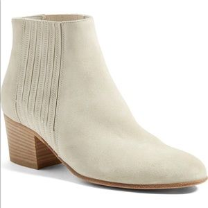 Vince Haider Suede Flint Stock Heel Ankle Boots6.5